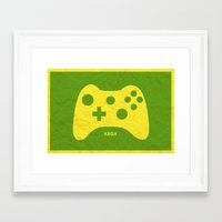 xbox Framed Art Prints featuring Xbox (Control Series) by emlem