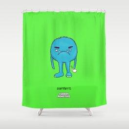 Grumpyfurrrts Shower Curtain