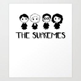 The Supremes Art Print