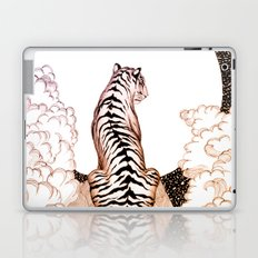 Tiger Moon Glow Laptop & iPad Skin