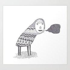 (A Wuggie) Art Print