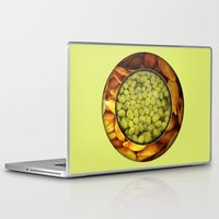 pasta Laptop & iPad Skins featuring Pasta + Beans by romano