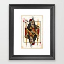 Vlad Impaler Framed Art Print
