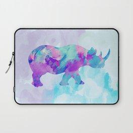 Abstract Rhino B Laptop Sleeve