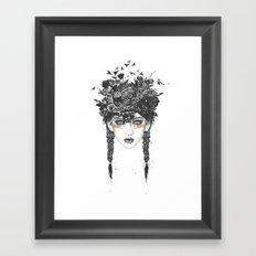 Summer Queen Framed Art Print