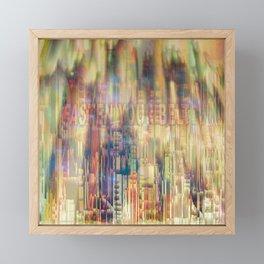 Fasten Your Belt / 29-08-16 Framed Mini Art Print