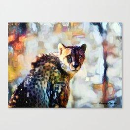 Your Cheetah Eyes Canvas Print