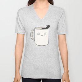 whoa, coffee! Unisex V-Neck