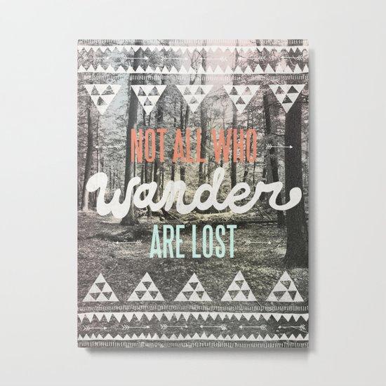 Wander Metal Print
