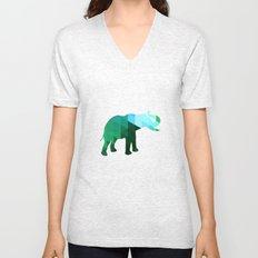 Emerald Elephant Unisex V-Neck