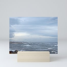 Coastal Storm Surge Mini Art Print