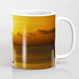 San Francisco Bay Kayak Coffee Mug