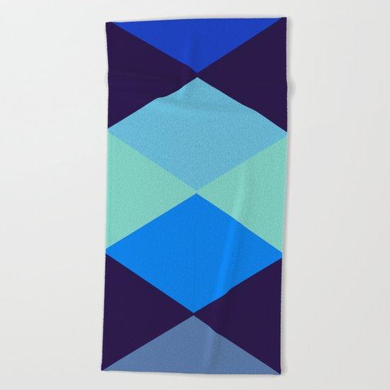 Abstract #375 Beach Towel