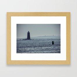 Whaleback Light Framed Art Print
