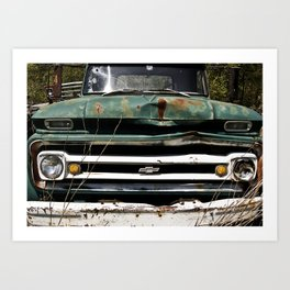 Somethin' bout a truck Art Print