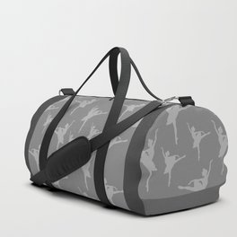 Grey Ballerinas Duffle Bag