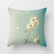 The Daisy Family Throw Pillow