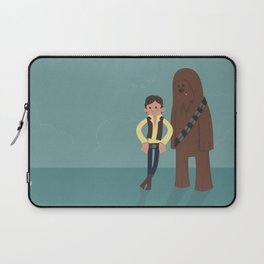 Han & Chewie, The Rogues Laptop Sleeve