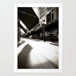 South Michigan Avenue - Chicago Art Print