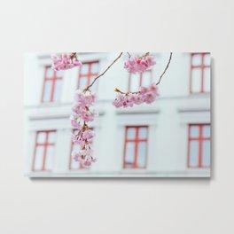 Pastel Sakura Metal Print