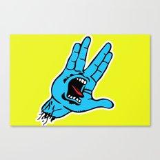 Screaming Vulcan Canvas Print