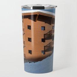Mountain chalet, holiday home Travel Mug