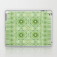 Green Denim Mandalas Laptop & iPad Skin