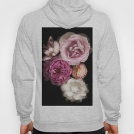 Pink, Purple, and White Roses Hoody