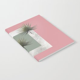 THREE PALM LEAVES & MARBLE Notebook