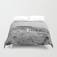 into the wild Duvet Covers featuring WILD by Lidia Ballano