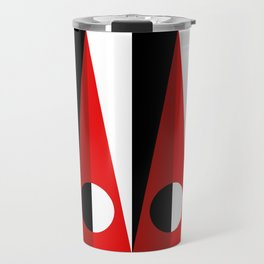 A GEOMETRICAL SUSPECT Travel Mug