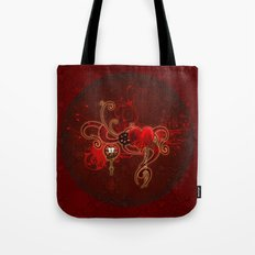Steampunk, wunderful heart Tote Bag