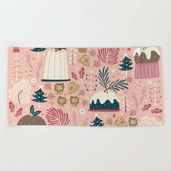 Holiday Delights Beach Towel
