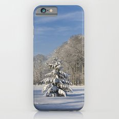 Snowy Christmas Tree Slim Case iPhone 6s