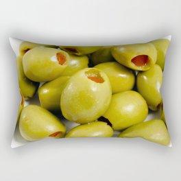 Green olives Rectangular Pillow