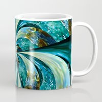 novelty Mugs featuring Water Wheel by Moody Muse