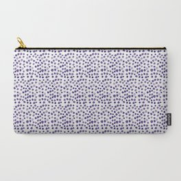 BLUE DOTS Carry-All Pouch