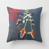 megaman Throw Pillows featuring Megaman X by JHTY
