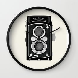 Rolliflex Wall Clock