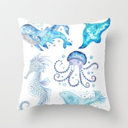 Oceanic Collection Throw Pillow