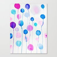 candy Canvas Prints featuring Candy by DuckyB