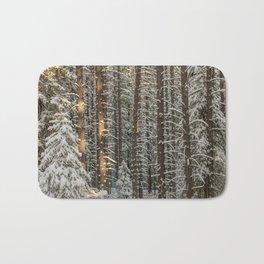lonely pine Bath Mat