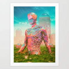 OUT OF THE RIFT (everyday 08.08.16) Art Print