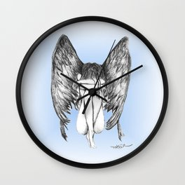 She Weeps Wall Clock