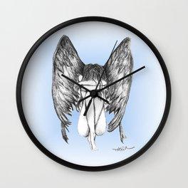 She Weeps Wall Clock