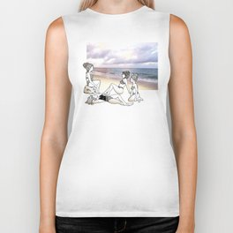Girlfriends at the Beach Biker Tank