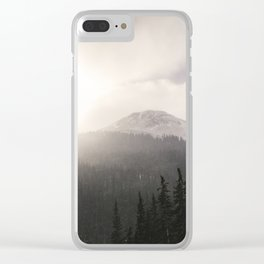 Colorado Mountain Pass Clear iPhone Case