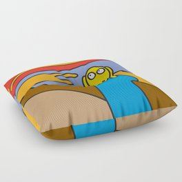 ooh Zoo – art-series, Munch Floor Pillow