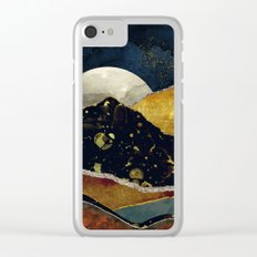 Bronze Night Clear iPhone Case
