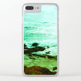 Pebble Beach Views // California Clear iPhone Case